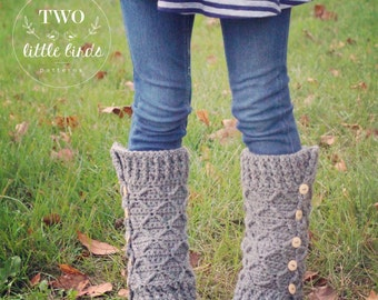 Crochet Pattern, ROWYN LEG WARMERS, crochet leg warmer pattern, crochet leg warmers, leg warmers, sizes toddler, child and adult