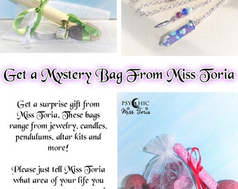 Personalized Mystery Bag From Miss Toria - Jewelry - Wiccan Gift - Altar / Spell Supplies