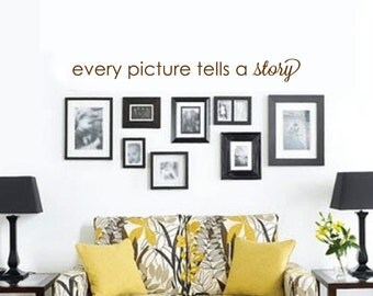 Every Picture Tells a Story Wall Decal
