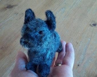 Hand needle felted little Cairn terrier