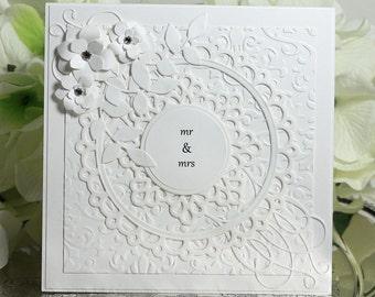 Congratulations Wedding Card - Best Wishes on Your Wedding - Wedding Wishes Card - Wedding Card - Luxury Card - Fancy Card - Greeting Card