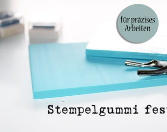 Rubber stamp, stamp carving, linocut, linoleum, precise