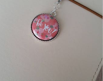 Cute Planner Charm / Be You! Happy Planner Charm / Erin Condren Charm / Happy Planner Charm / Purse Charm / Backpack Charm / Zipper Pull