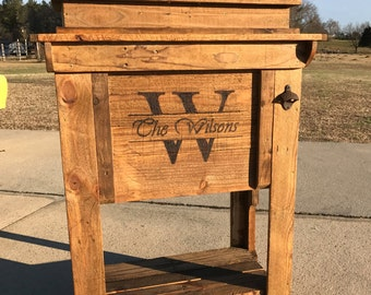 Reclaimed Wood Cooler