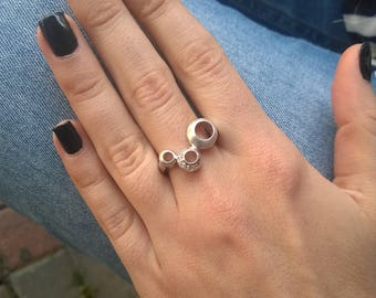 Minimalist Ring Silver Rings Sterling Silver Ring Womens Ring Rings for Women Womens Silver Ring Rings for Girls Rings for Teens Silver
