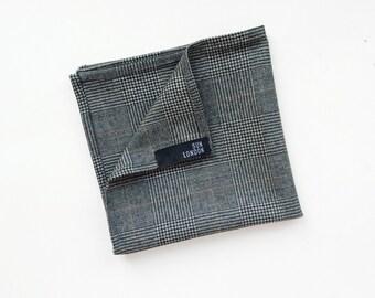Marylebone Wool Pocket Square, Men's Handkerchief