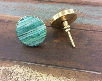 Teal dresser etsy for Nautical bureau knobs