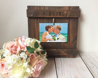 Wedding Gift - Wedding - Wedding Signs - Wedding Decorations - Wedding Decor - Wedding Frame - Rustic Wedding - Rustic Wedding Decor - Gift