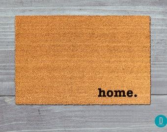 Home Doormat, Home Door Mat, Home Welcome Mat, Doormat, Door Mat, Welcome Mat, Handmade Doormat, Painted Doormat, Painted Door Mat