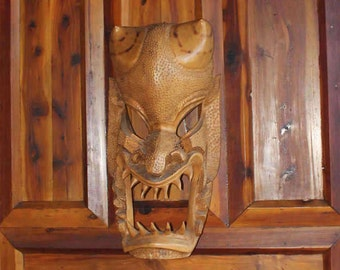 Hawaiian Demon Tiki Fertility Mask