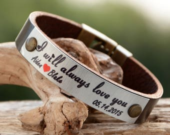 FAST SHIPPING, Mother days Bracelet, Actual Writing Bracelet, Her Personalize Bracelet, Women Leather Bracelet, Customize Women Gift For Her