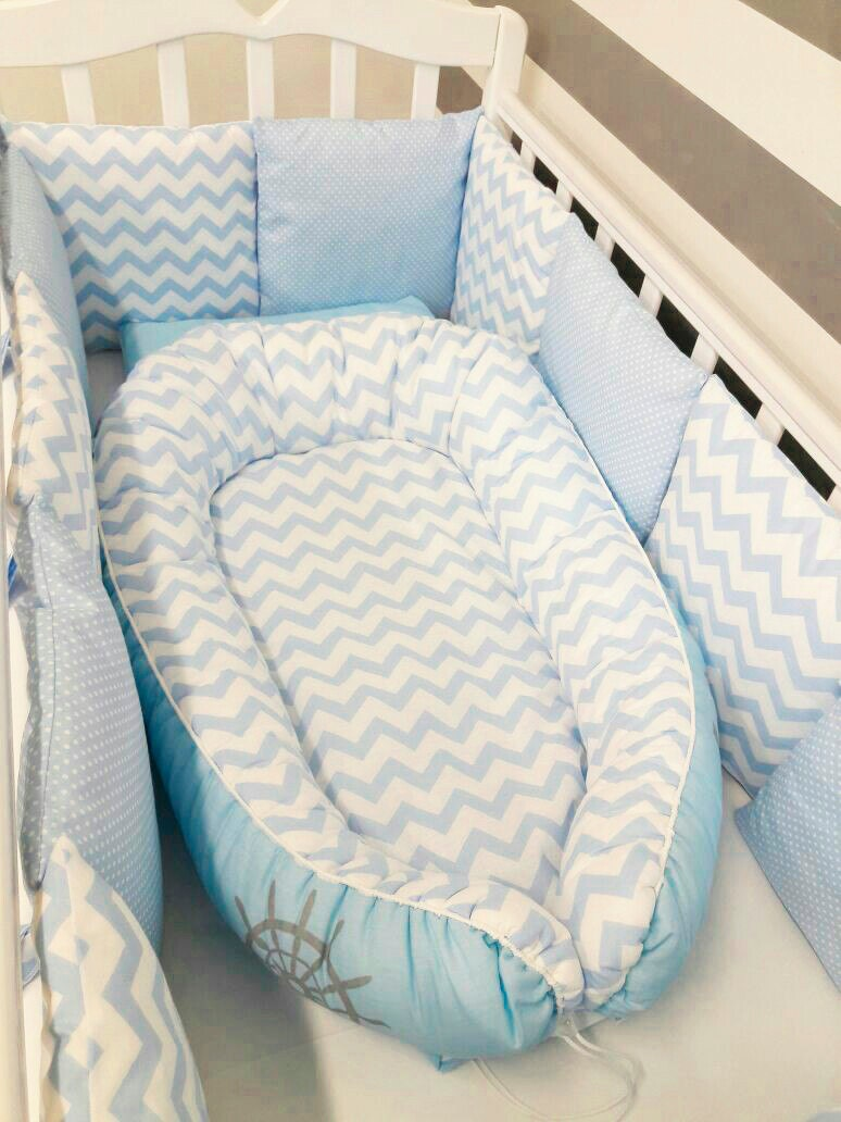 Toddler Size Blue Breeze Baby Nest Babynest Baby Bed Baby