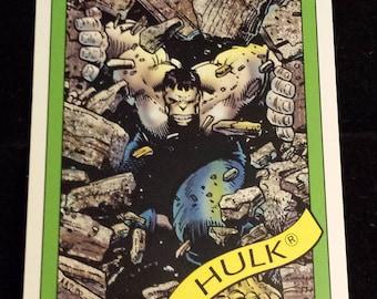 Hulk (Gray) #17 - 1990 Marvel Universe Series 1 Base Trading Card