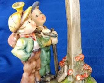 RARE Berlin Wall Commemorative Hummel Figurine - Crossroads