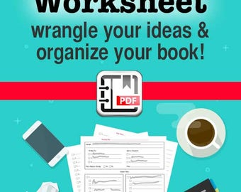 Writing A Book Worksheet For Writers, Writing Tools, Indie Author Tools, Writer Tools, Self Publishing, Fiction Authors, Non Fiction Authors