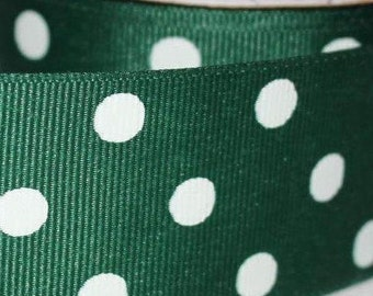 "Polka Dot (Choose Colors) Design  1.5"" Collar with Side Release Buckle (Martingale Option Available)"