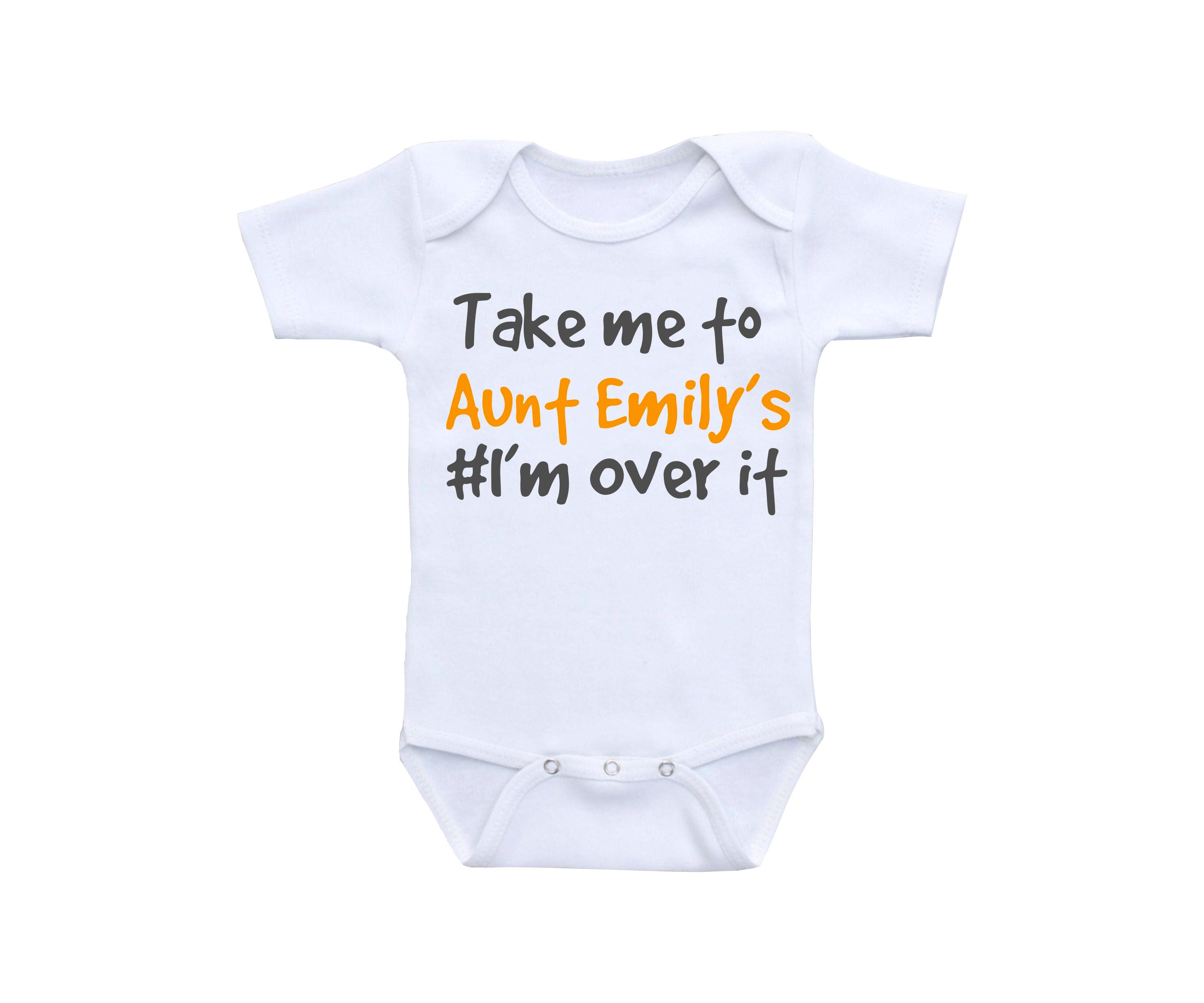 Funny Baby Clothes or Gerber esie Funny Baby esies Aunt