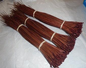 402 3 pk Dyed Pine Needles Redwood Basketry Coiling Fiber 3.80, 4.25 OZ & 3.90 ozs Bundles Florida Pine Basket makers Basket Supply