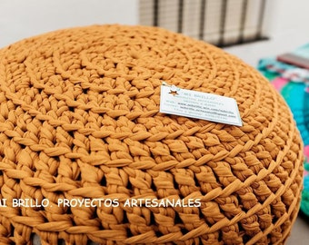 PUFF HANDMADE with Recycled Cotton and its cover (Unfilled)