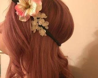 Unicorn Maiden, flower crown, head piece, floral, wedding