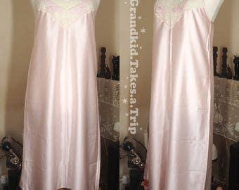 Vintage Lace Pale Pink Slip