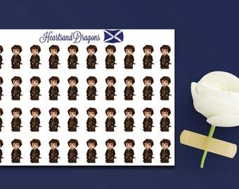 Outlander Stickers Qty. 27 {SKU 406}