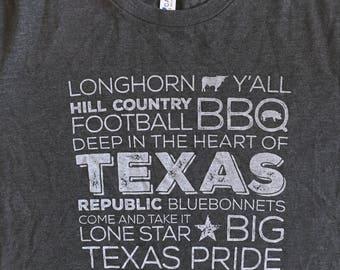 Best of Texas Screen Printed T-Shirt
