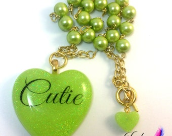 Sweetheart <3 Cutie Necklace