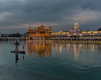 India Photography, Golden Palace, Holy Lake, Amritsar, Sikhism, Sikh Print Art, Travel Photography, Fine Art Photography, India Print Art