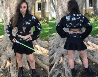 Star Wars Geisha Jacket Top Japanese Lolita Kimono Reversible Jacket