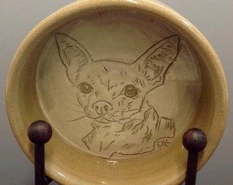 Pamela Kadlec - Chihuahua Food/Water Bowl