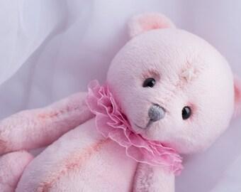 Cosmo Teddy Bear Pink Marmalade