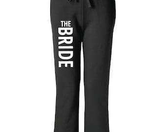 Bride Sweatpants. Bride Gift. Bride Pants. Bridesmaid Pants. Bridal Party Pants. Custom Sweatpants. Wifey. Bridesmaids. Bridesmaid Proposal.