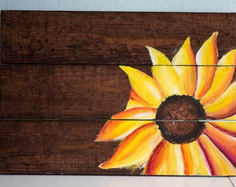 Sunflower Painting -Home Decor