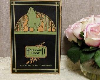 Vintage Hosiery Box, Art Deco, Hollywood, c1930; Vintage Box
