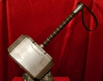 All steel Thor's hammer Mjolnir replica from Thor The Dark World/Avengers 2 (MADE TO ORDER)