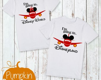 Disney Shirt/First Trip to Disney/Going To Disneyworld/Going to Disney/First Disney Trip/Girl Disney Shirt/Boy Disney Shirt/Disney Bound