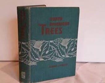 North American Trees, Richard Preston, Vintage Green Hardover Handbook, Hardback, 1950, Reference book