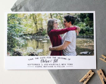 Photo Save the Date - Style 01 - Custom Save the Date Design, Print or Download
