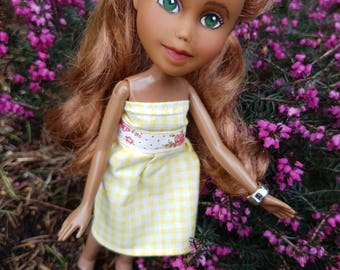 SALE! OOAK Upcycled Bratz doll/handpainted doll/recycled doll/rescued doll