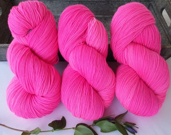 High twist from the House of Zitron hand dyed 100 g