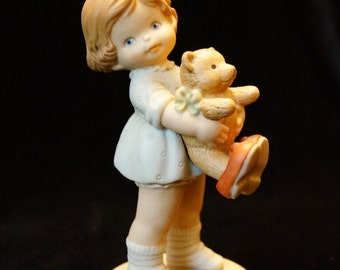 """Retired Enesco Memories of Yesterday """"Time For Bed"""" Mabel Lucille Atwell Collection 1991."""