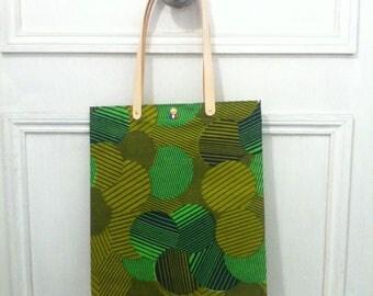 TOTE BAG green AFRICA