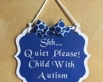 Autism Awareness Home Sign