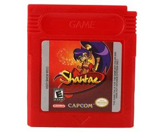 Shantae Gameboy Cartridge for Nintendo Game Boy Color Customized Repro GBC Cart - Free Shipping!