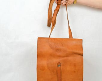 Leather Utility Satchel