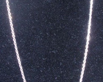 Sterling 3mm Rope Necklace