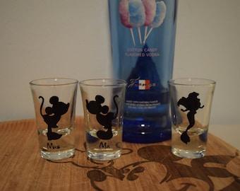 Disney Shot Glasses