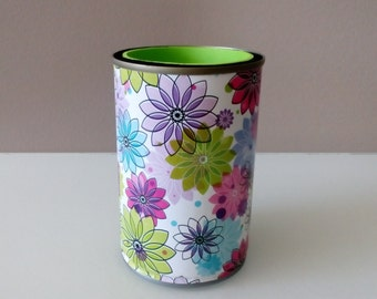 Bottle/Can Holder For Women – Womens' Drink and Barware,Bottle Holder,Stubbie Cooler,Can Holder,Floral Design