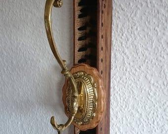 """Wardrobe """"Old weaving II.""""  coat Coathook standing coat rack coat hook wall decoration"""